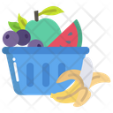 Fruits Healthy Fruit Watermelon Icon