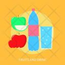 Fruits And Drink Icon