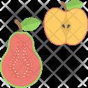 Apple Half Of Icon