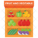Fruits And Vegetables Icon