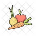 Fruit Vegetable Food Icon