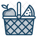 Fruits Basket Fruit Bucket Food Basket Icon
