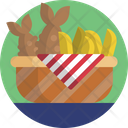 Fruits Bananas Healthy Icon