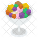 Fruity Ice Cream Ice Cream Scoops Ice Cream Icon