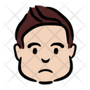 Frustrated Boy Icon