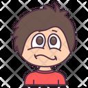 Cute Boy Angry Boy Sad Boy Icon