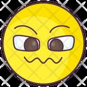 Frustrated Emoji Frustrated Expression Emotag Icon
