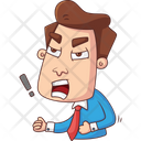 Frustrated Man Icon