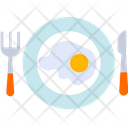 Fry Egg Fried Egg Dairy Food Icon