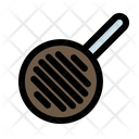 Frying Pan Tool Kitchen Equipment Icon