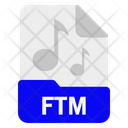 Ftm File Format Icon
