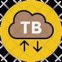Ftp Cloud Service Icon