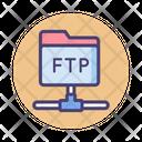 Ftp Protocol Protocal Ftp Icon