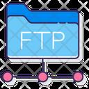 Ftp Protocol Folder Ftp Icon