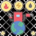 Fuel Energy Petroleum Icon