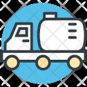 Fuel Truck Gas Icon