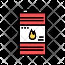 Fuel Barrel Color Icon