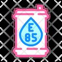 Barrel Bio Fuel Icon