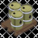 Fuel Barrels Icon