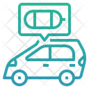 Fuel Cell Electric Vehicle Hydrogen Combustion Engine Hydrogen Engine Icon