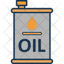 Fuel Container Fuel Drum Oil Can Icon