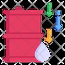 Fuel Down Icon