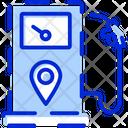 Fuel Location Map Pump Icon