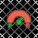Fuel Meter Fuel Indicator Indicator Icon