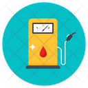 Oil Station Gas Dispenser Gasoline Station Icon
