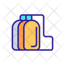 Petrochemical Oil Fuel Icon
