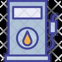Empty Fuel Gas Icon