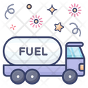 Oil Tain Fuel Tank Oil Container Icon
