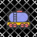 Fuel Tank Train Train Railway Icon