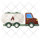 Oil Tanker Fuel Tanker Oil Container Icon