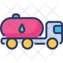 Fuel Oil Tanker Icon