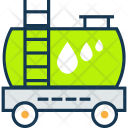 Fuel Tanker Truck Icon