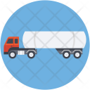 Fuel Truck Delivery Icon