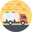 Transportation Fuel Road Icon