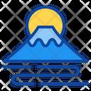 Fuji Mountain Icon