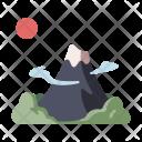 Fuji Mountain Landmark Icon
