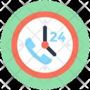 Full Service Clock Icon