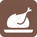 Full Chicken Roast Icon