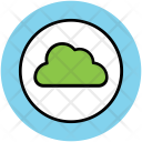 Full Moon Cloud Icon