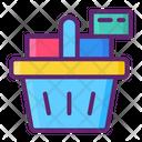 Full Basket Online Shopping Shopping Icon