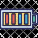 Full Battery Mobile Battery Battery Level Icon