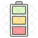 Battery Charge Accumulator Icon