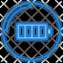 Full Battery Battery Level Full Icon
