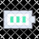 Full Battery Full Charging Battery Status Icon