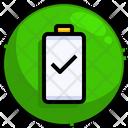 Full Battery Notification Icon