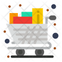 Cart Full Groceries Icon